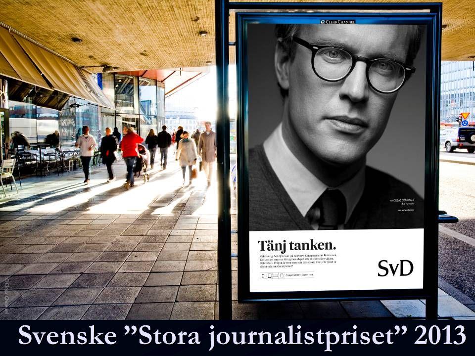 "Svenske ""Stora journalistpriset"" 2013"