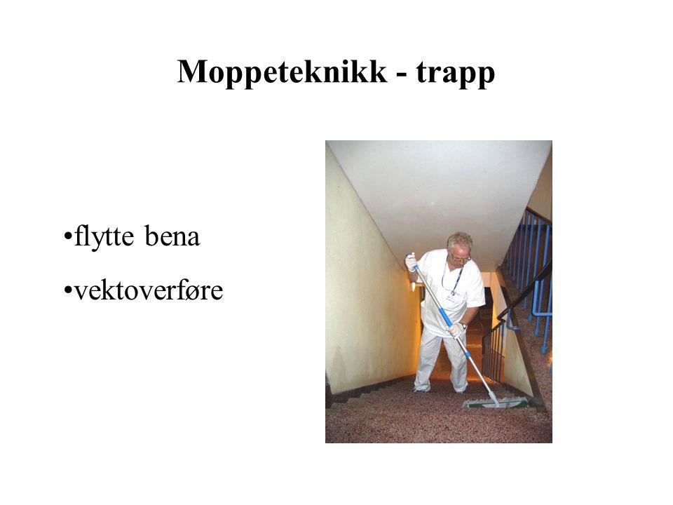 Moppeteknikk - trapp flytte bena vektoverføre
