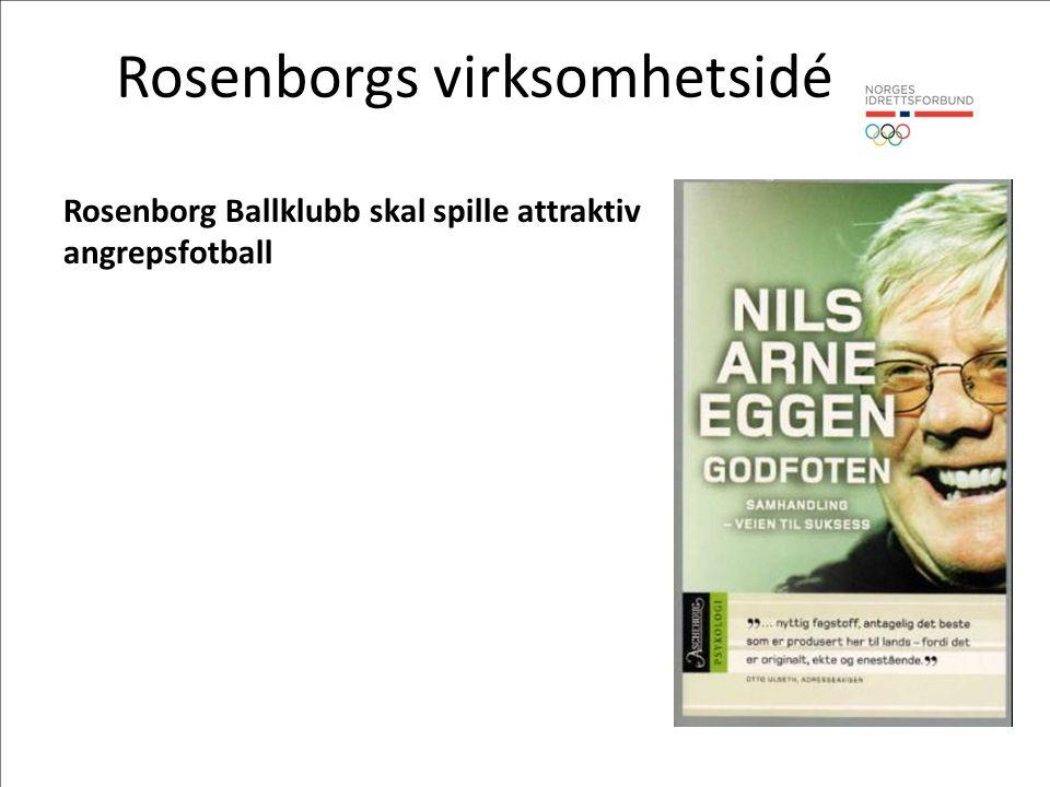 Rosenborgs virksomhetsidé Rosenborg Ballklubb skal spille attraktiv angrepsfotball