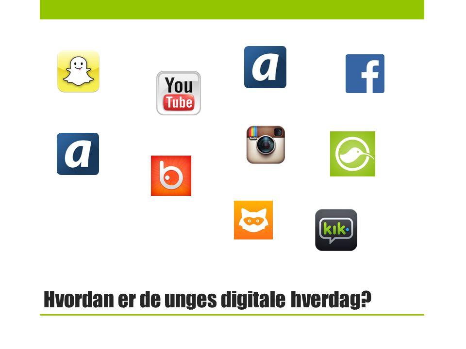 Hvordan er de unges digitale hverdag