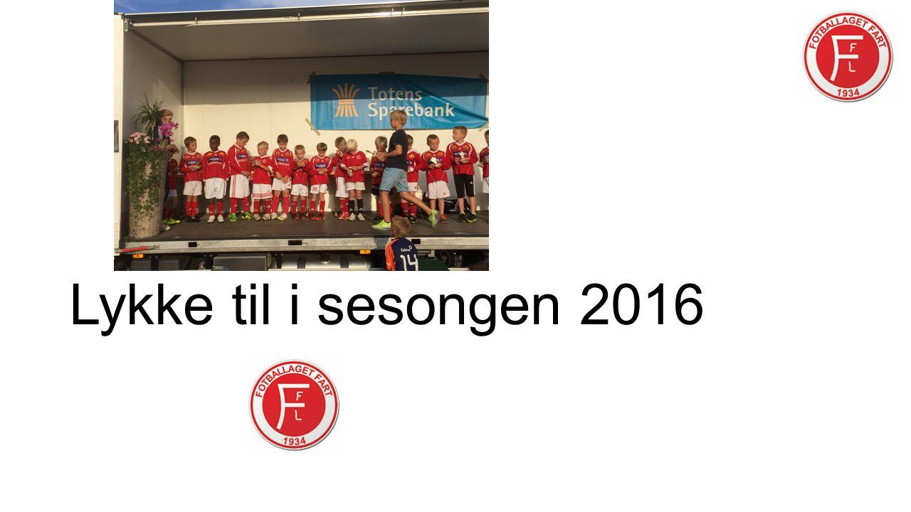 Lykke til i sesongen 2016