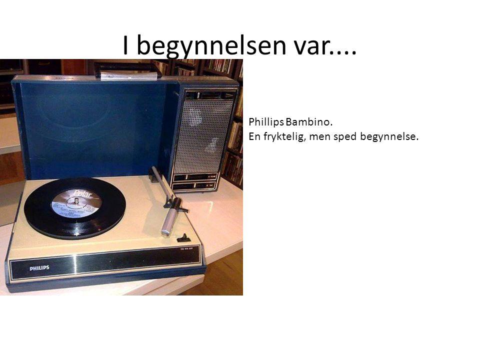 MASSE UTPRØVING.Med ny job som selger for Yamaha hi-fi, i Norge.