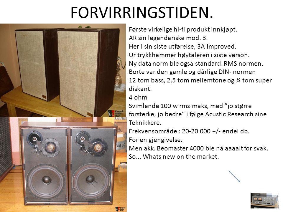 Musikk i utestuen.Tandberg tr-200. Trenger sikkert ikke å snakkes om.