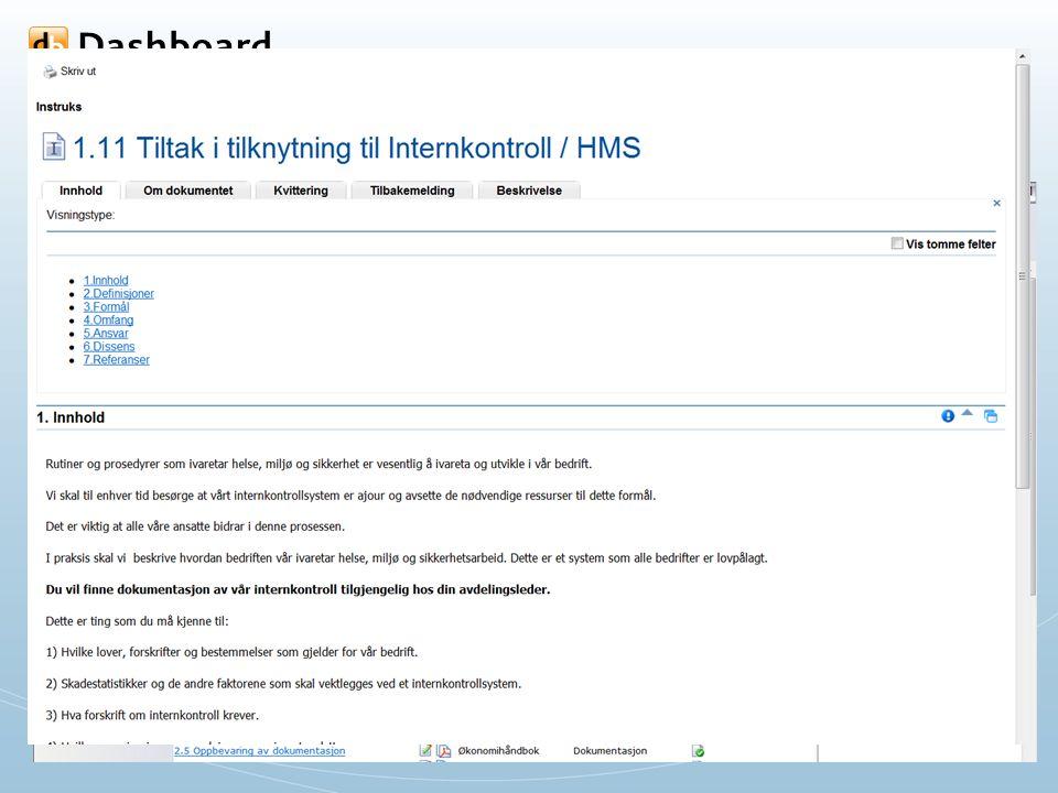 Adm. eHåndbok – Godkjenne dokumenter