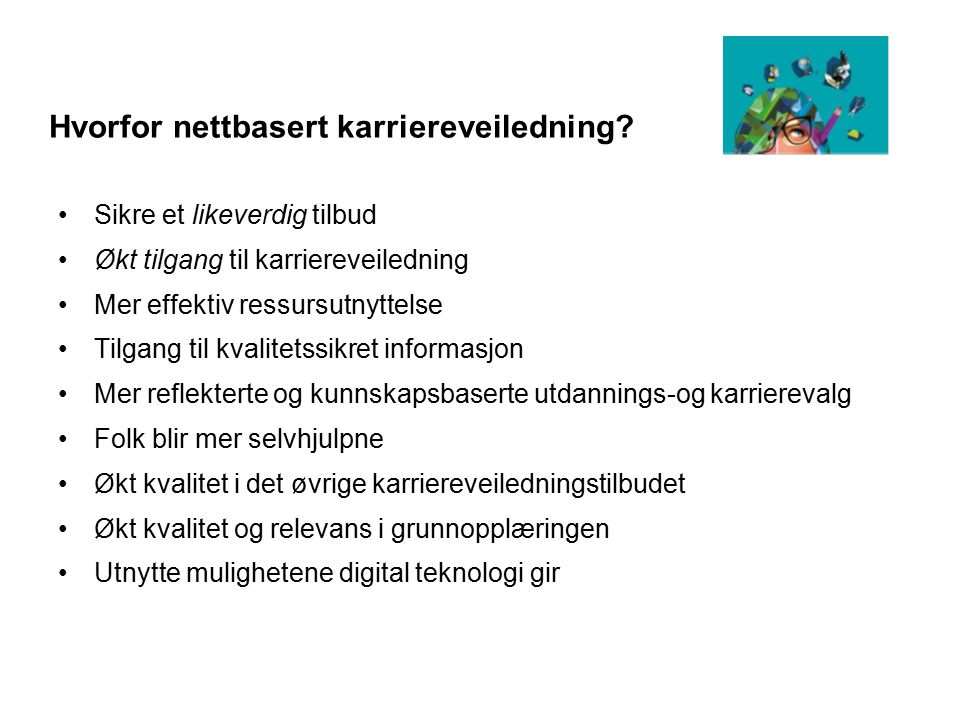 De 25 mest synlige nettstedene med utdannings- og karriererelatert innhold Utdanning.no Senter for IKT i utdanningen 97% studievalg.no Studenttorget AS 75% ung.no Barne-, ungdoms- og familiedirektoratet 63% studenttorget.no Studenttorget AS 62% studentum.no Studentum AS 54% vgd.no Verdens Gang AS 45% no.wikipedia.org Stiftelsen Wikimedia foundation 45% forum.kvinneguiden.no Egmont AS, Oslo 37% diskusjon.no Mediehuset TEK AS 33% sokutdanning.no CareerOn AS, Oslo 21% facebook.com Facebook Inc.