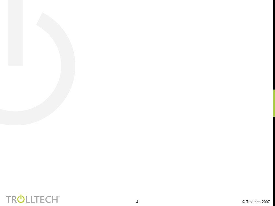 45 © Trolltech 2007 NTNU lab staret i september 2001 100+ studentprosjekt og masteroppgaver 30+ tjenester er laget 3 doktorstudenter 6+ patentsøknader 20+ selskap bruker PATS, 2 spin-offs Samarbeide med mange partnere http://www.pats.no Nå åpent for fri programvare-utvikling - PATS Program for Advanced Telecom Services