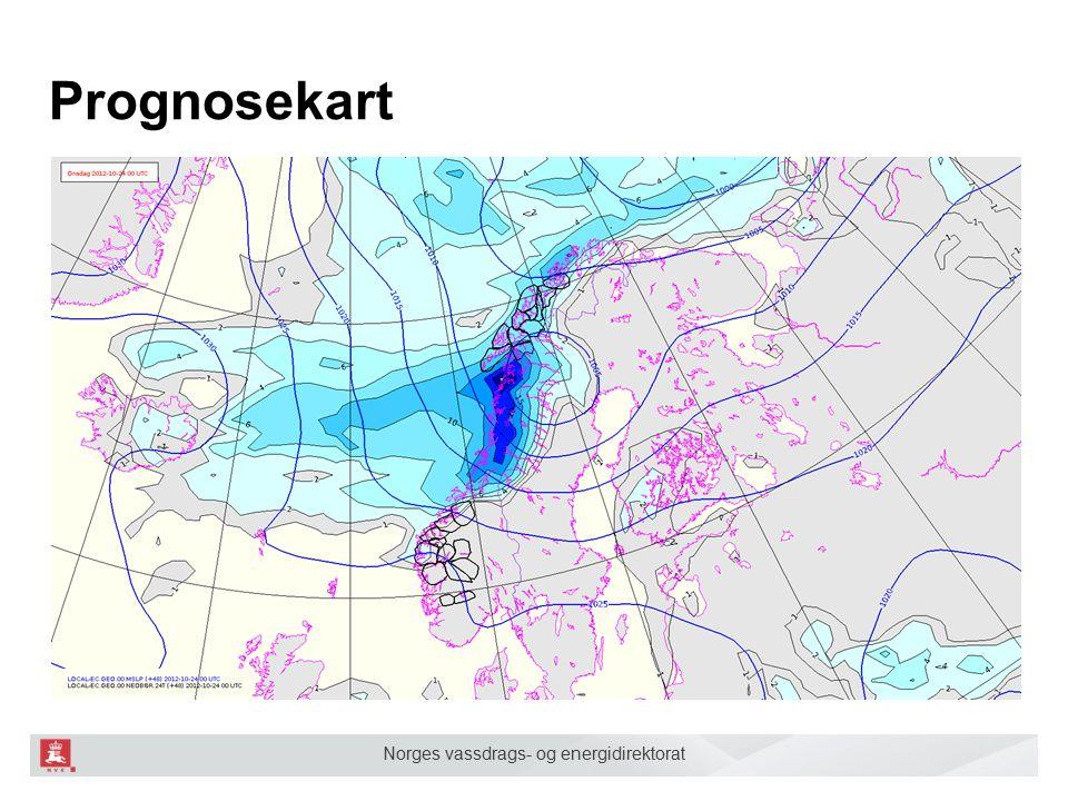 Norges vassdrags- og energidirektorat Da har vi samlet relevant informasjon Neste steg er å systematisere informasjonen og omsette det til et varsel.