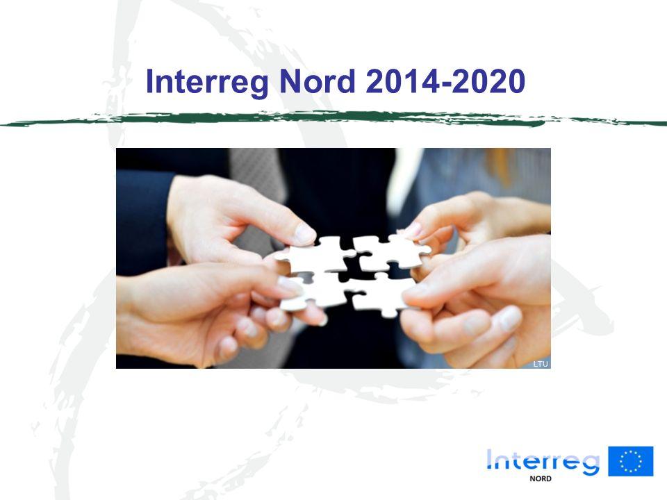 Interreg Nord 2014-2020 LTU