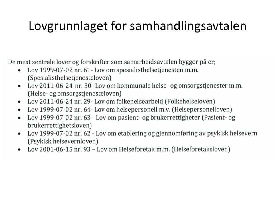 Plikter, oppgaver og ansvar Sentrale: – HMR og kommunen har gjensidig ansvar for at det organisatorisk og ressursmessig sikres elektronisk samhandling mellom partene over Norsk Helsenett.