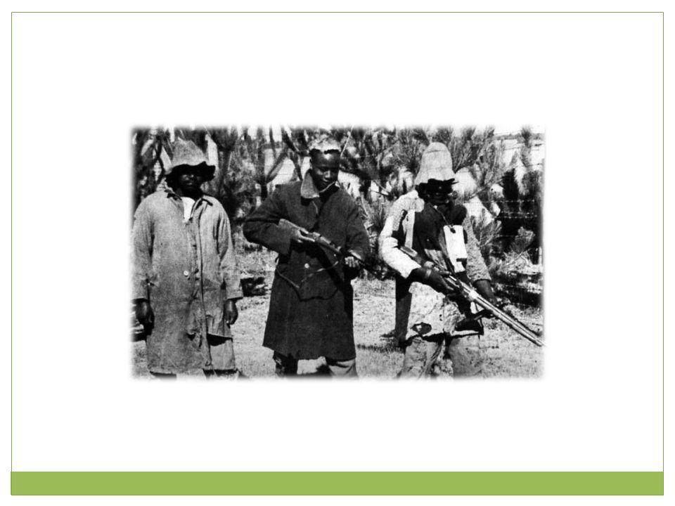 Kravet om selvstendighet kom fra eliten i kolonibefolkningen.