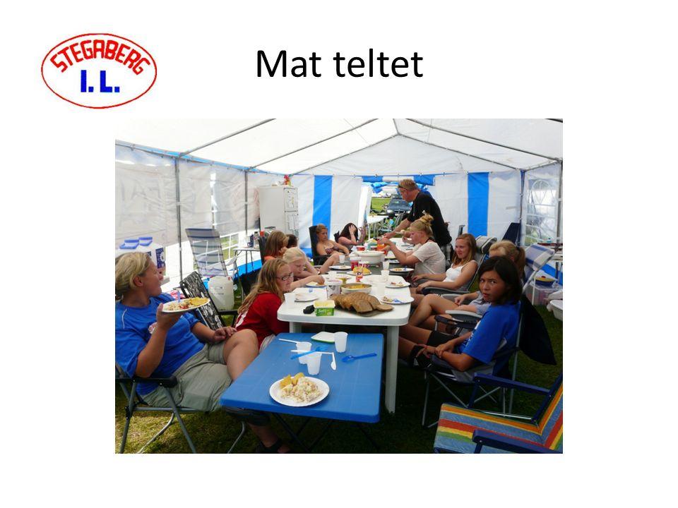 Mat teltet