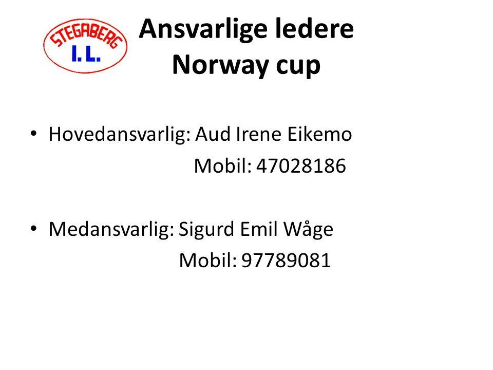 Velkommen til Ekeberg Det er en opplevelse for spillere og foreldre å være med på Norway cup – ligge samlet på Ekeberg camping.