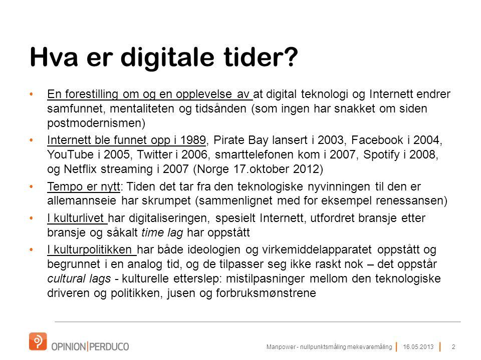 Hva er digitale tider.