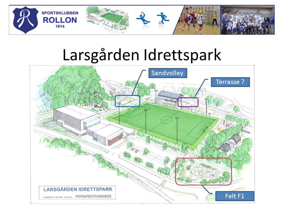 Larsgården Idrettspark Terrasse Felt F1 Sandvolley