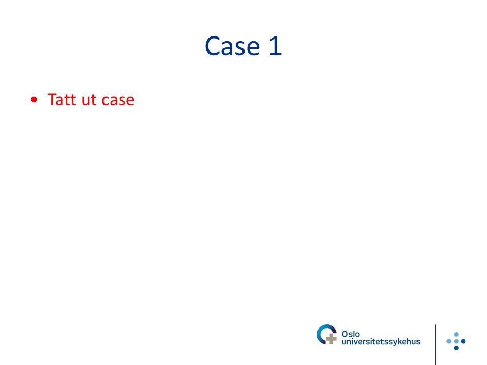 Case 1 Tatt ut case