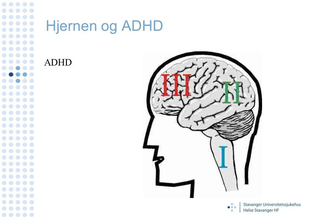 A - Attention - Oppmerksomhet D- Deficit - Svikt H - Hyperactive - Hyperaktiv D - Disorder - Lidelse 3-5 % av skolebarn har ADHD Gutter: Jenter 4:1 ADD – ikke hyperaktivitet tilstede