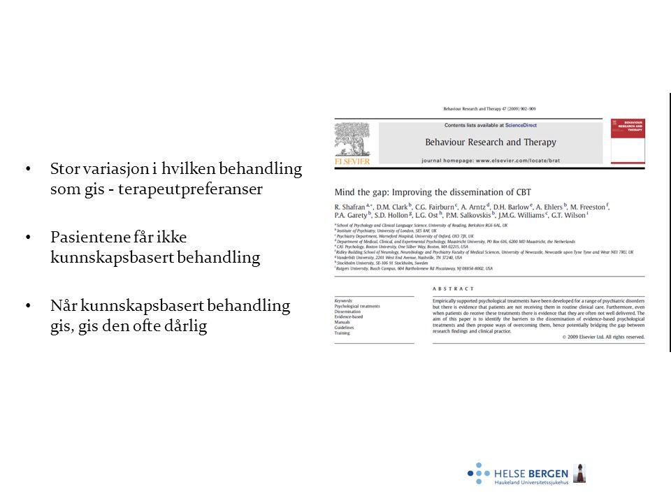 Forskning Samarbeid med Anders Hovland (UiB): Hjerteratevariabilitet og søvn Havnen, A., Hovland, A., Haug, E.