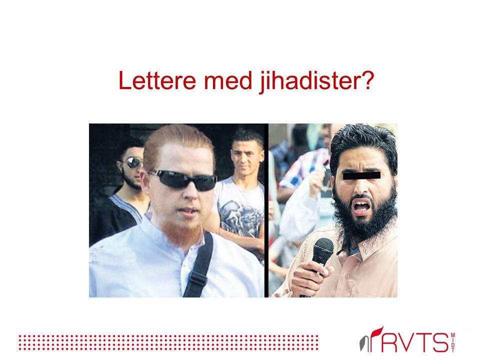 Lettere med jihadister