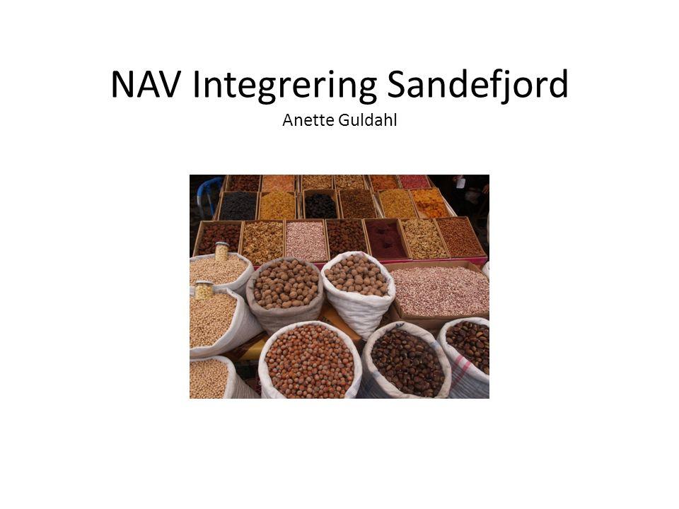 NAV Integrering Sandefjord Anette Guldahl