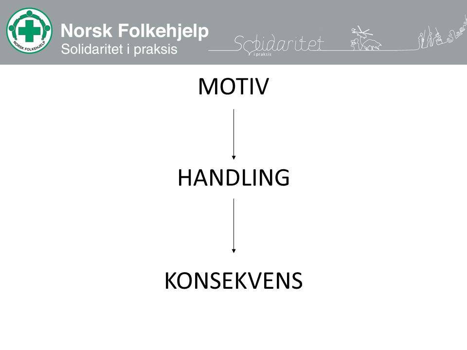 MOTIV KONSEKVENS HANDLING