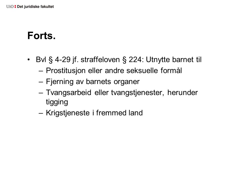 Forts.Bvl § 4-29 jf.