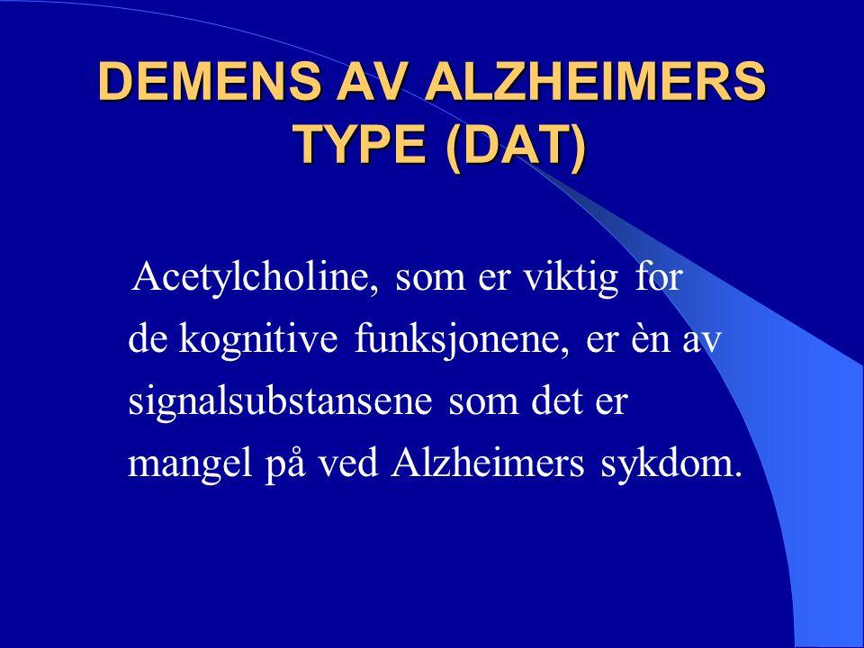 LEWY BODY DEMENS Lewy- body demens utgjør ca.10-15% av demenstilfellene.