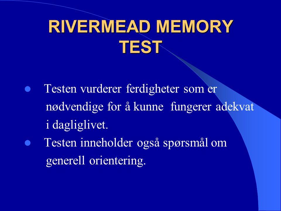 TRAIL MAKING TEST DEL A Testen består av et ark med to sider hvor det på den ene siden er tegnet inn sifre fra 1 til 8 og på den andre sifre fra 1 til 25.