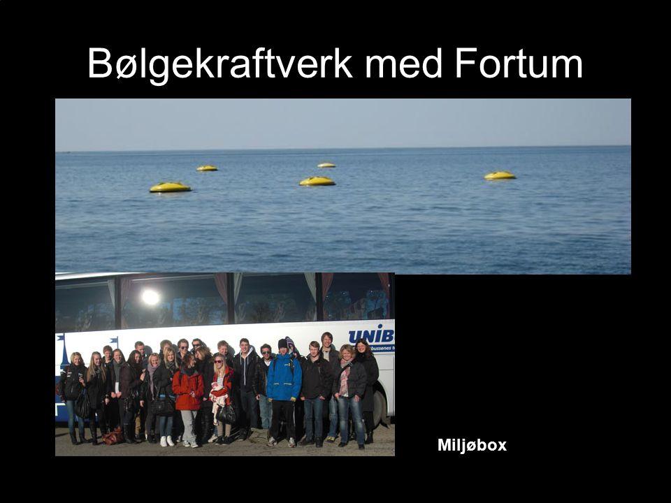 Bølgekraftverk med Fortum Miljøbox