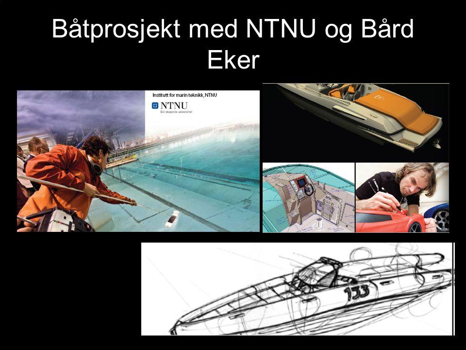 Båtprosjekt med NTNU og Bård Eker