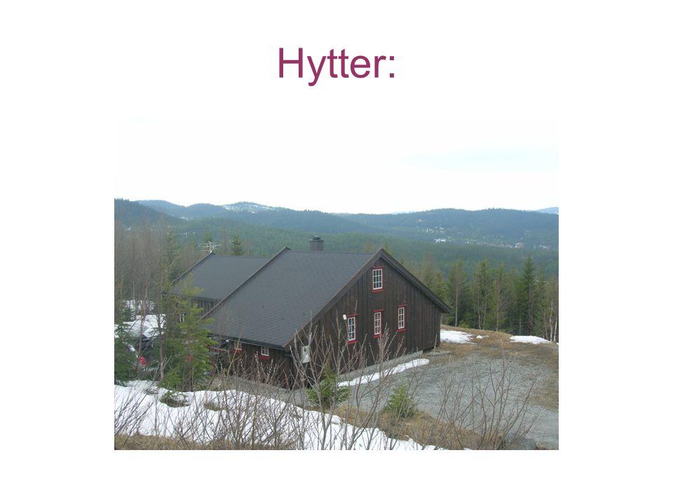 Hytter: