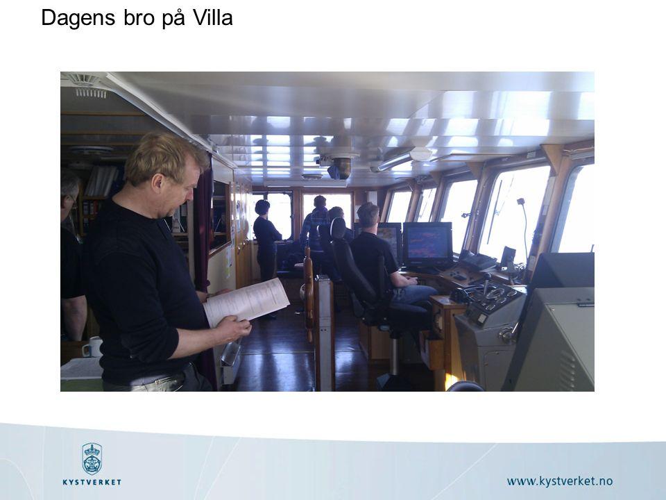 Dagens bro på Villa
