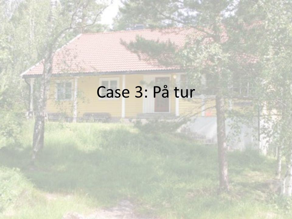 Case 3: På tur