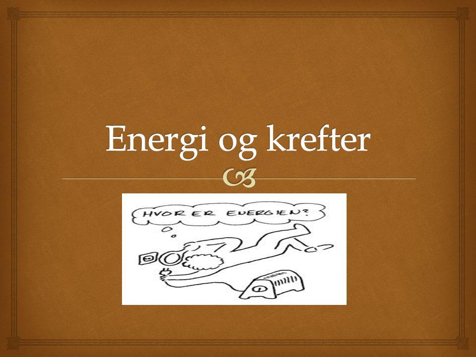   Korleis kan vi sei at vi har brukt opp energien, men ifølgje energilova ikkje kan bruke opp energi.