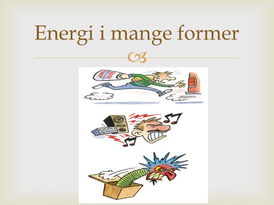   -Kunne å forklare innhaldet i energilova ved å bruke omgrepa høgverdig og lågverdig energi  -Kunne å forklare kva vi meiner med kraft i naturfag Læringsmål: