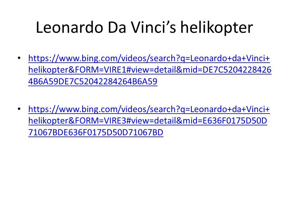 https://www.bing.com/videos/search?q=Leonardo+da+Vinci+ helikopter&FORM=VIRE1#view=detail&mid=DE7C5204228426 4B6A59DE7C52042284264B6A59 https://www.bing.com/videos/search?q=Leonardo+da+Vinci+ helikopter&FORM=VIRE1#view=detail&mid=DE7C5204228426 4B6A59DE7C52042284264B6A59 https://www.bing.com/videos/search?q=Leonardo+da+Vinci+ helikopter&FORM=VIRE3#view=detail&mid=E636F0175D50D 71067BDE636F0175D50D71067BD https://www.bing.com/videos/search?q=Leonardo+da+Vinci+ helikopter&FORM=VIRE3#view=detail&mid=E636F0175D50D 71067BDE636F0175D50D71067BD