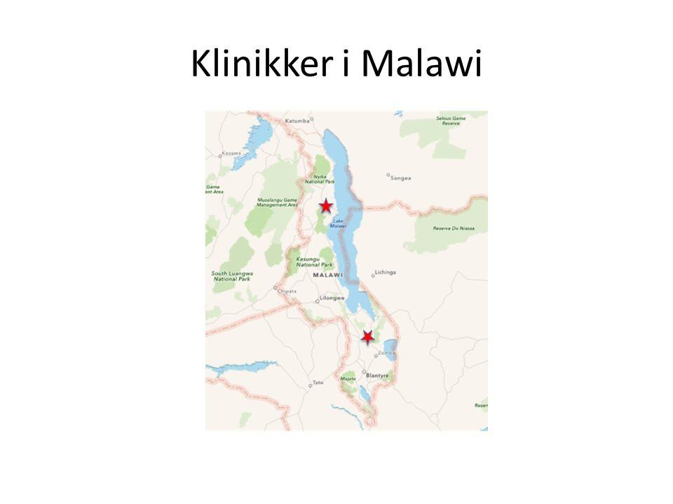 Klinikker i Malawi