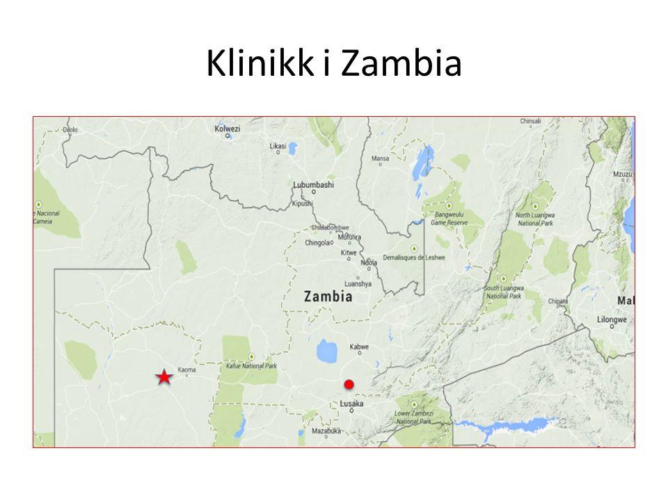 Klinikk i Zambia