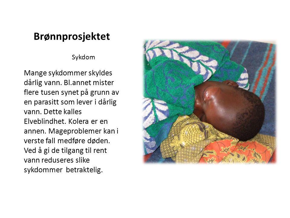 Brønnprosjektet Mange sykdommer skyldes dårlig vann.