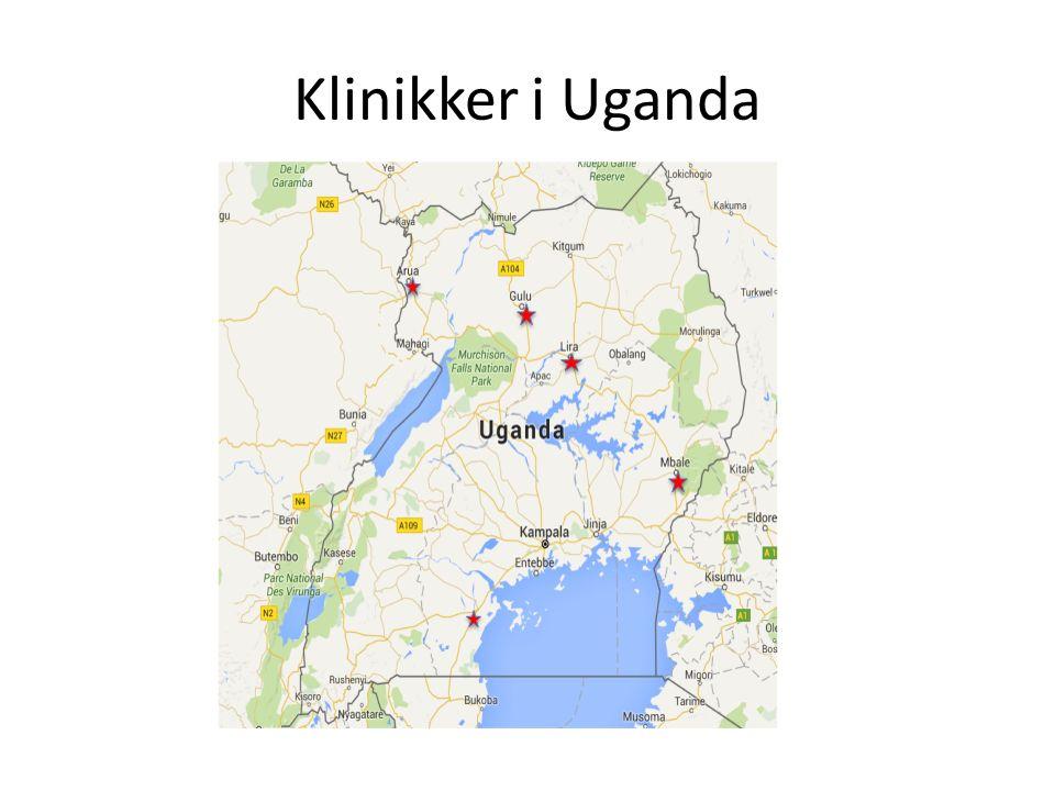 Klinikker i Uganda