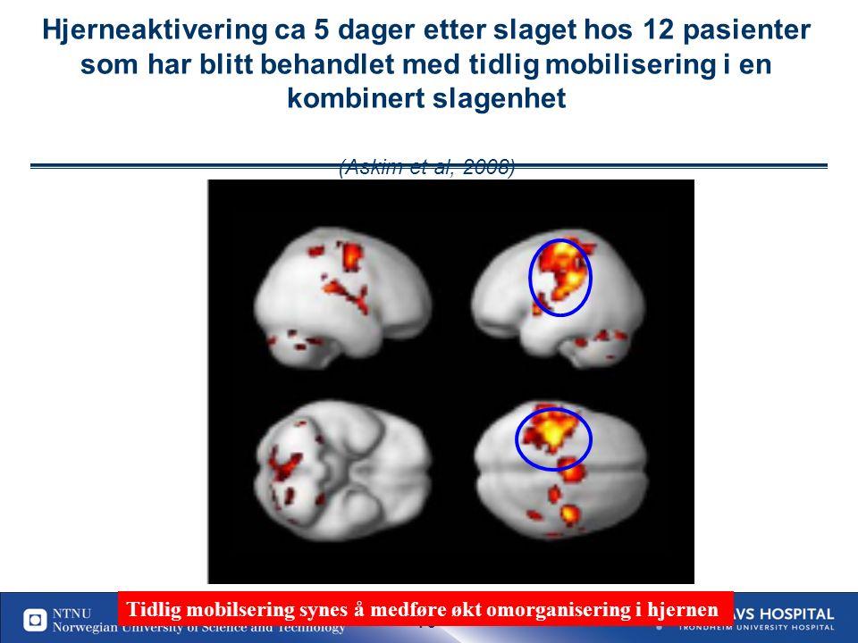 78. Nature Reviews Neuroscience 2006: B Johansson et al J Rehab Med 2003