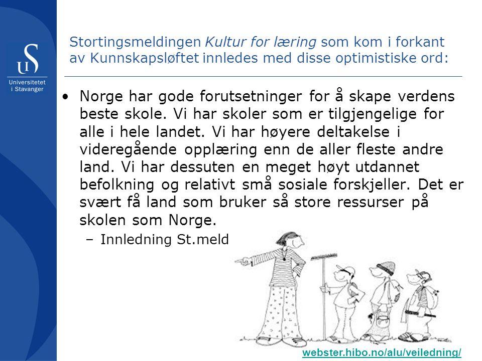 Kompetanseorientering i norsk skole som svar på.