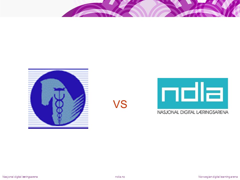 VS ndla.noNasjonal digital læringsarenaNorwegian digital learning arena