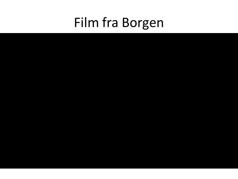 Film fra Borgen