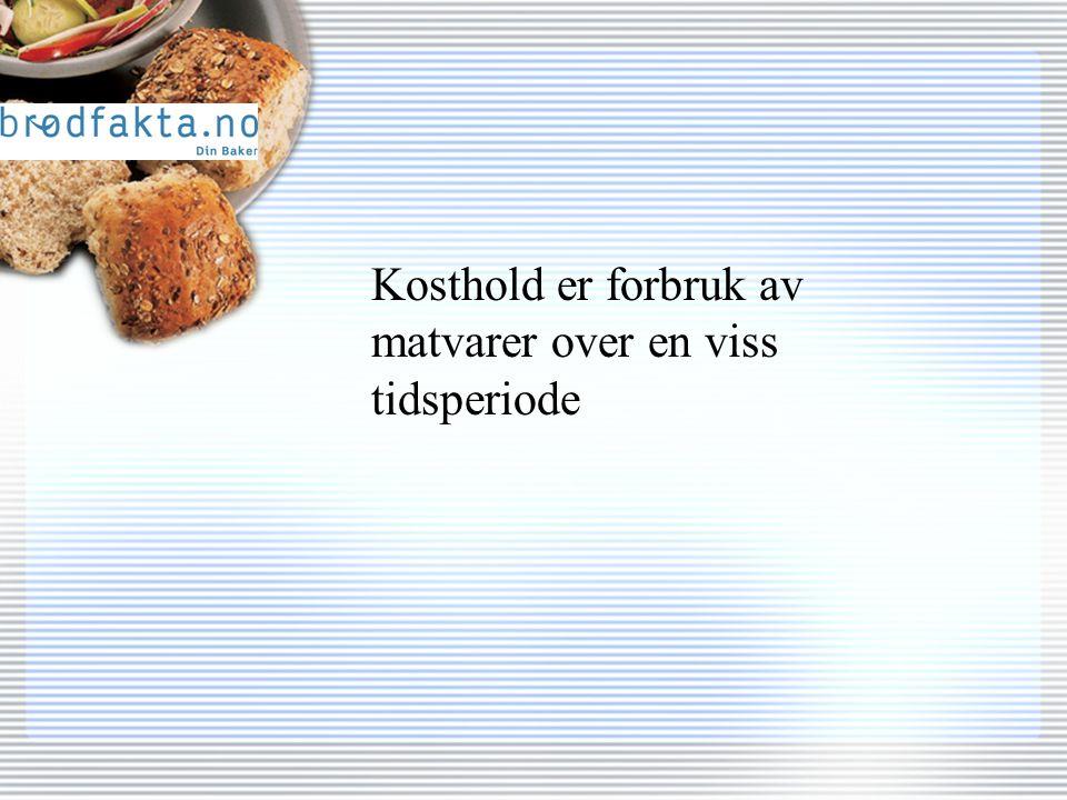 Hvor mange …... forskjellige brødtyper og varianter av brød har vi i Norge?