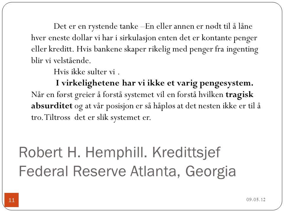 Robert H. Hemphill.