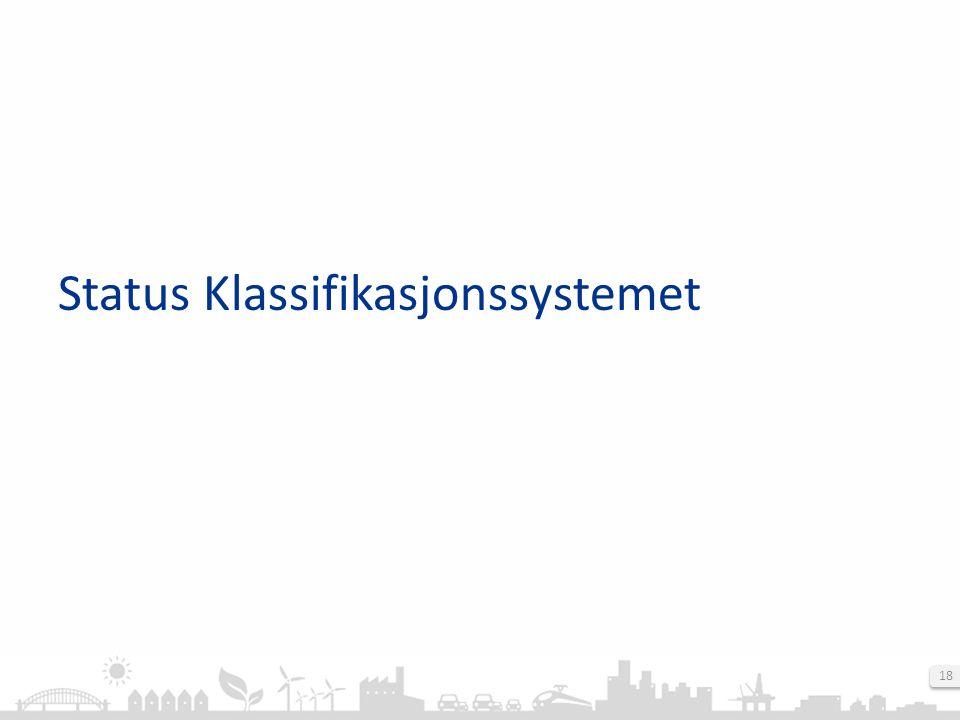 18 Status Klassifikasjonssystemet