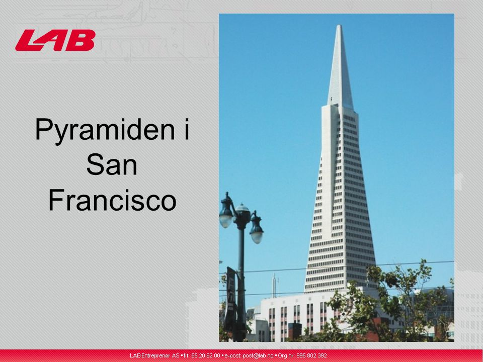 Pyramiden i San Francisco