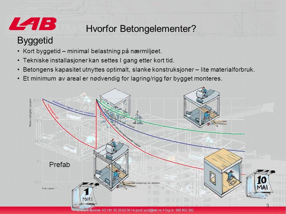 24 Rektangulære bjelker (RB) og hyllebjelker (LB/DLB)