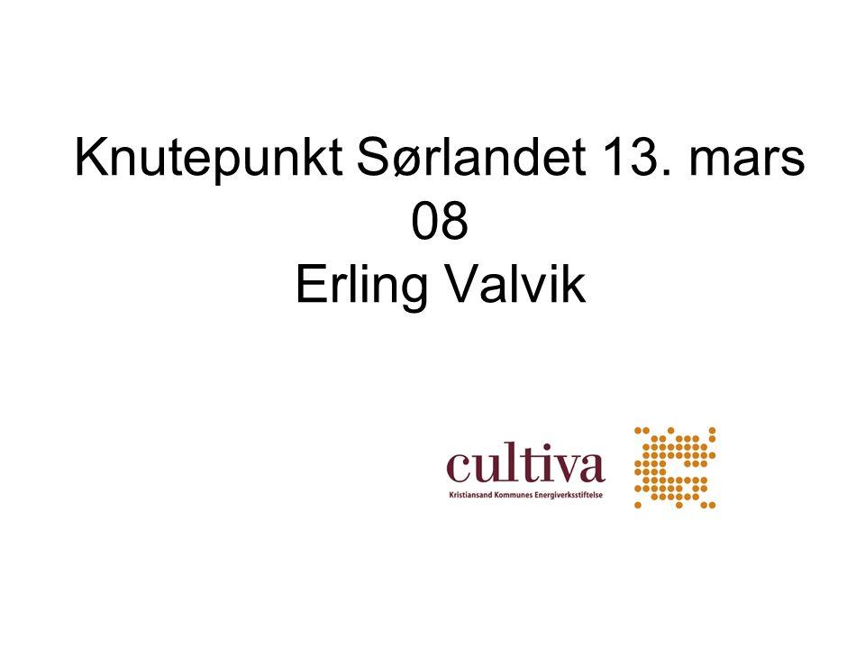 Knutepunkt Sørlandet 13. mars 08 Erling Valvik