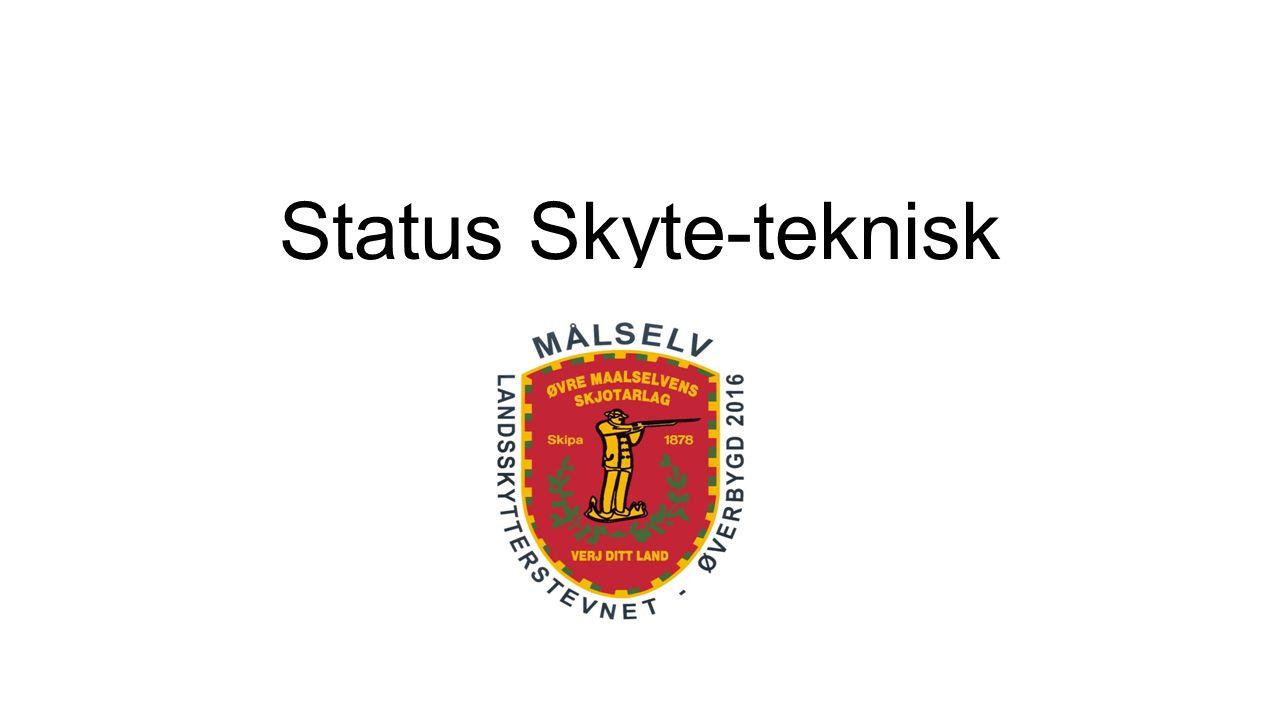 Status Skyte-teknisk LS 2016